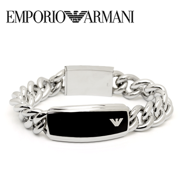 【送料無料】EMPORIO ARMANI エンポリオ アルマーニ メンズ ブレスレット アクセサリーegs172904019