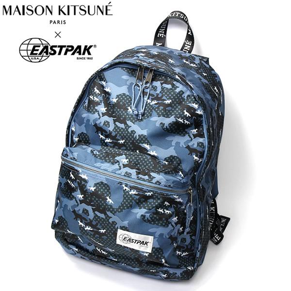 【マラソンセール】【送料無料】メゾンキツネ イーストパック MAISON KITSUNE EASTPAK バックパック リュック 鞄 メンズ レディース SPEAU806 ギフト