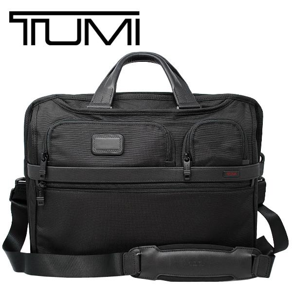 【送料無料】TUMI トゥミ コンパクト・ラージ・スクリーン・コンピューター・ブリーフ ALPHA 2 BUSINESS ビジネスバッグ ブリーフケース 26114D2