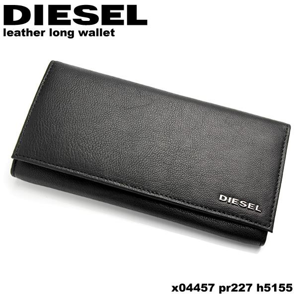 【感謝SALE】【送料無料】DIESEL ディーゼル 財布 ウォレット やぎ革 ブランド メンズ 男性用 長財布 シンプル x04457-h5155