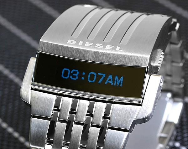 디젤 DIESEL 시계 LED 디지털 미래형 모델 DZ7080