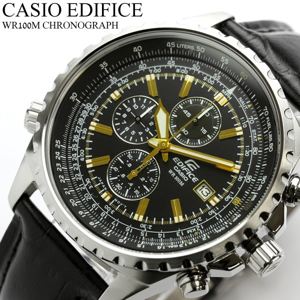 f6606fe280c CASIO Casio watches edifice EDIFICE watch EF-527L-1. From G to E era. With  advanced technology and a dynamic design that combines