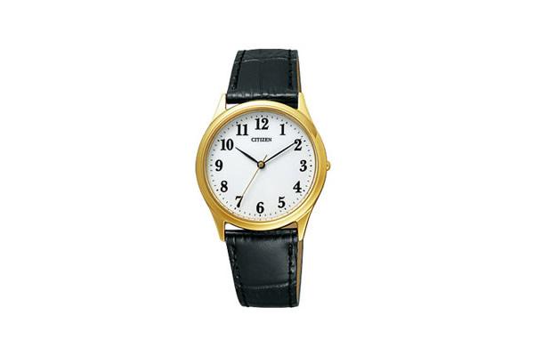 シチズン CITIZEN フォルマ FORMA メンズ 腕時計 FRY59-2292 革ベルト ブラック うでどけい Men's