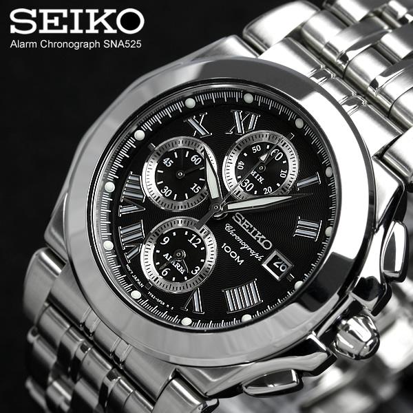 セイコー腕時計 クロノグラフ SEIKO メンズ 腕時計 セイコー腕時計 SNA525 送料無料 セイコー アラームクロノグラフwuTkPXliOZ