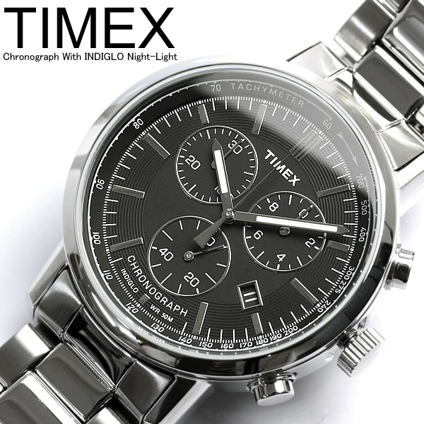 TIMEX 태국 멕시코 시계 남성용 크로 노 크로 노 T2M706 Men 's 시계 うでどけい 세일 51% OFF