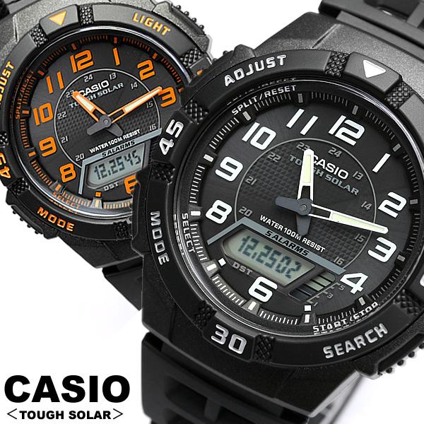 Casio watches solar CASIO CASIO watch mens AQ-S800W-1B Casio tough solar  mens udedokei MEN'S watch d8dcdb745a97
