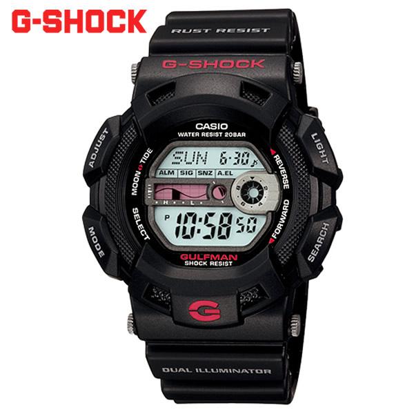 【2/15限定 エントリーでポイント12倍】 【Gショック・G-SHOCK】ジーショック gショック 腕時計 CASIO CASIO CASIO カシオ g-shock メンズ MEN'S うでどけい 国内正規品 g-9100-1jf GULFMAN ガルフマン 803