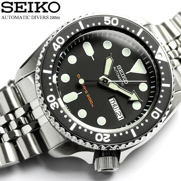 【海外逆輸入モデル】【セイコー】【腕時計】セイコー SEIKO 腕時計 メンズ ダイバーズウォッチ Divers 20気圧防水 自動巻き SKX007KD ウォッチ MEN'S
