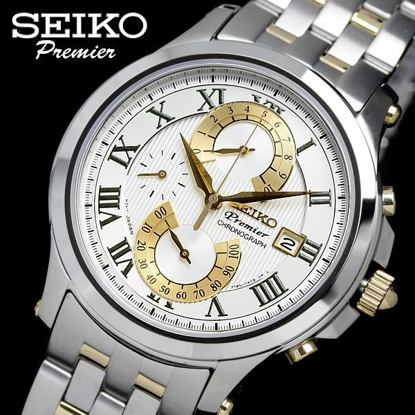 セイコー SEIKO 腕時計 プルミエ メンズ SPC068P1