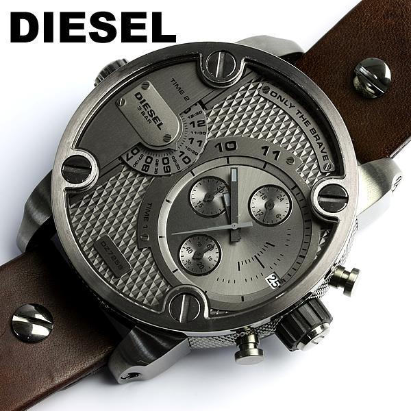 Montre homme bracelet large diesel
