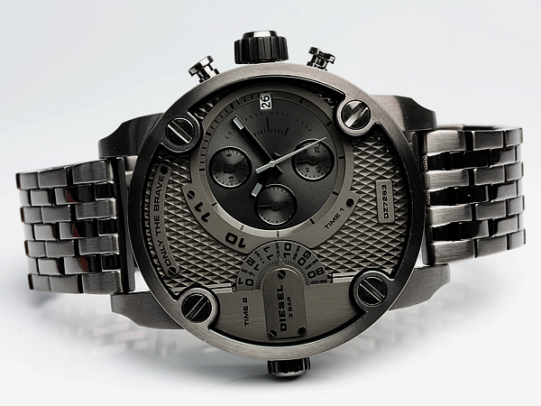 Diesel DIESEL diesel watch DZ7263 dual time mens watch chronograph diesel DIESEL diesel watch MEN's うでどけい