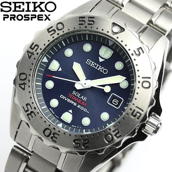 SEIKO SEIKO PROSPEX Pross pecks men watch divers solar SBDN003
