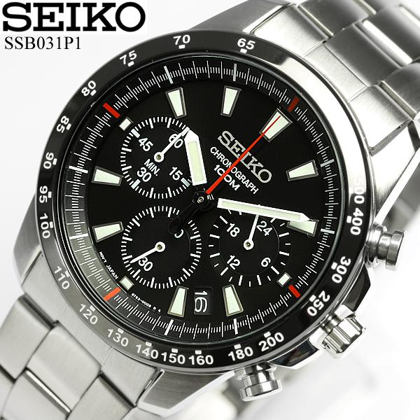 cameron  Boil SEIKO men chronograph watch SEIKO Kurono men watch ... 1ba1bc80dcef