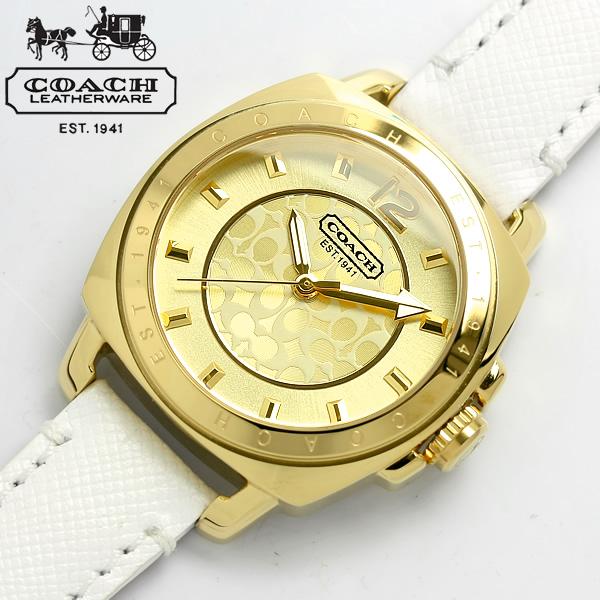 COACH コーチ レディース 腕時計 ボーイフレンド ミニ 14501600 レザー かわいい うでどけい 女性用