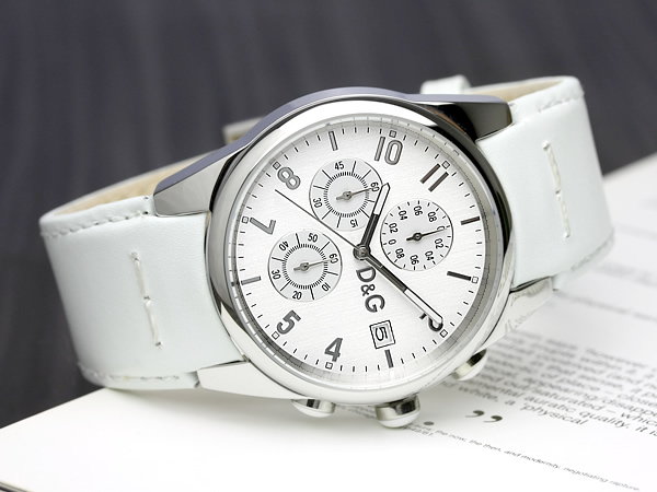 D & G d & g watch Dolce & Gabbana Mens Watches D & G Sandpiper chronograph die and say men's watches うでどけい Men's