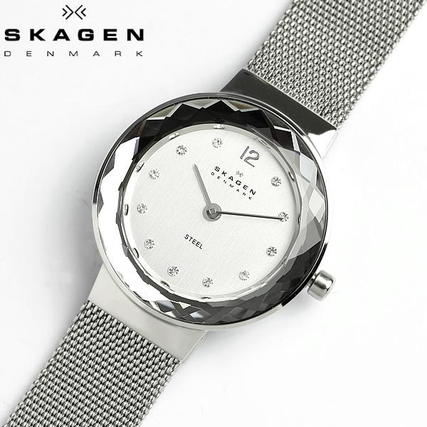 【2/15限定 エントリーでポイント12倍】 【スカーゲン SKAGEN】 腕時計 レディース 456SSS スカーゲン SKAGEN 腕時計 薄型 うでどけい LADY'S ウォッチ スワロフスキー