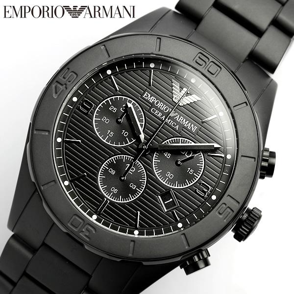 Cameron rakuten global market emporio armani emporio armani chronograph cermic ceramica watch for Ceramica chronograph