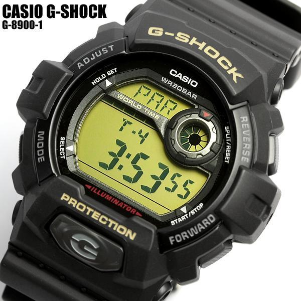 【G-SHOCK・Gショック】CASIO カシオ ジーショック G-8900-1 G-SHOCK メンズ 腕時計 MEN'S うでどけい