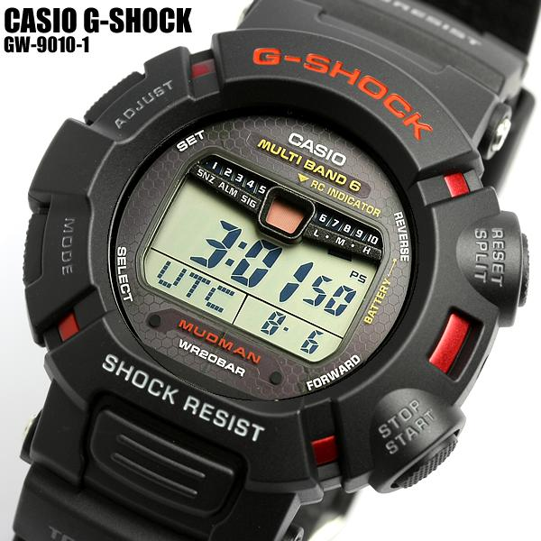 I boil CASIO willow oak ogee shock electric wave solar GW-9010-1 G-SHOCK men watch MEN'S, and get out and is