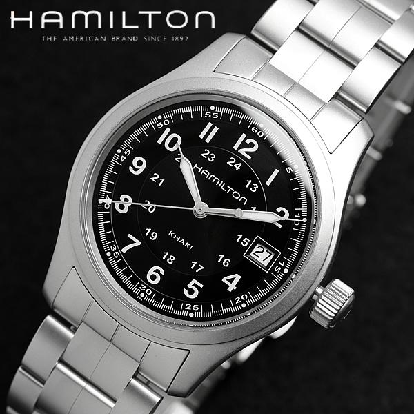 ハミルトン カーキ フィールド H68411133 腕時計 メンズ ブランド ランキング ウォッチ うでどけい MEN'S