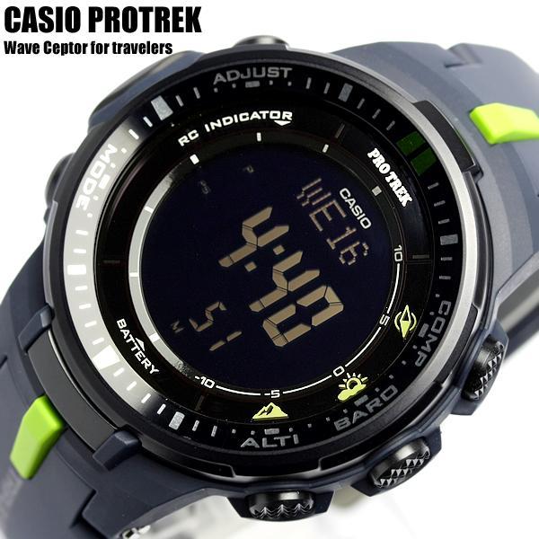 a60d5382ed 【カシオ・腕時計】プロトレック電波ソーラーカシオ電波ソーラーCASIOPROTREK