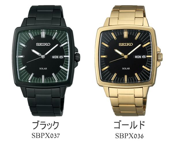 Move SEIKO spirit men watch solar watch SEIKO SPIRIT solar watch arm, and is; MEN'S watch SBPX037