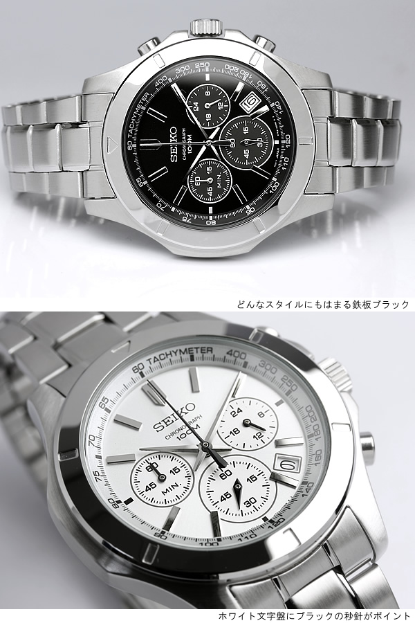 1d0682ee8 Clamp is detachable and easy push-3 folding buckle. Screw back adoption  cannot miss resistant 10 ATM. Simple and stylish Chronograph Watch.