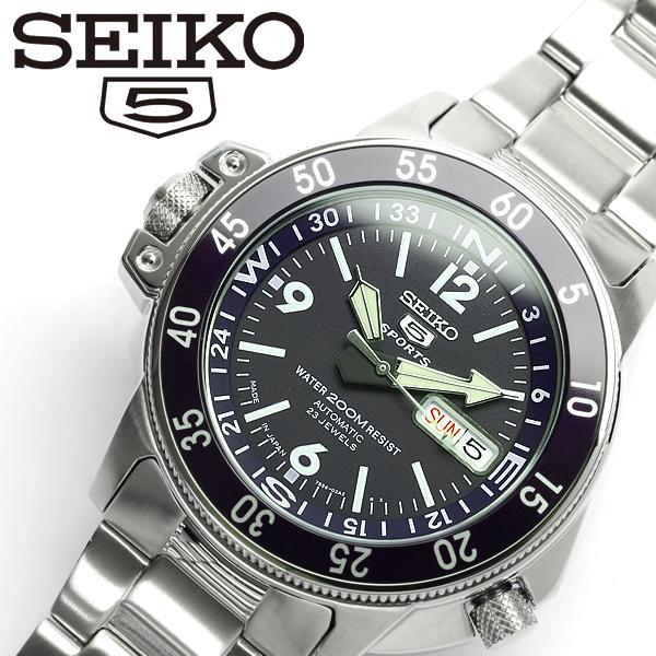 【SEIKO5 SPORTS/セイコー5 スポーツ】 腕時計 ダイバーズウォッチ 自動巻き メンズ SKZ209J1 Men's うでどけい オートマティック 日本製 MADE IN JAPAN メイドインジャパン ギフト