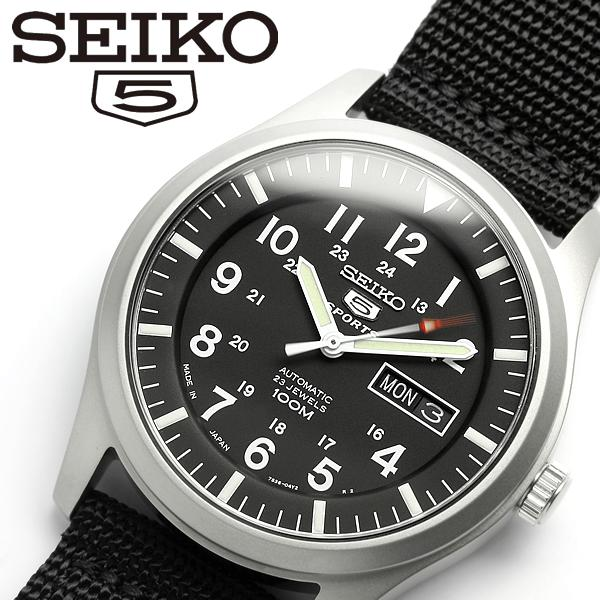 【SEIKO5 SPORTS/セイコー5 スポーツ】 腕時計 ウォッチ 自動巻き メンズ SNZG15J1 Men's うでどけい オートマティック 日本製 MADE IN JAPAN メイドインジャパン