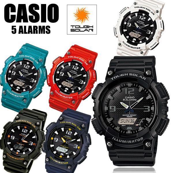 【カシオ・腕時計】【ソーラー 腕時計】カシオ 腕時計 CASIO カシオ腕時計 ソーラー カシオ 腕時計 AQ-S800W ソーラー腕時計 スタンダード 腕時計 メンズウォッチ メンズ 腕時計 MEN'S ギフト
