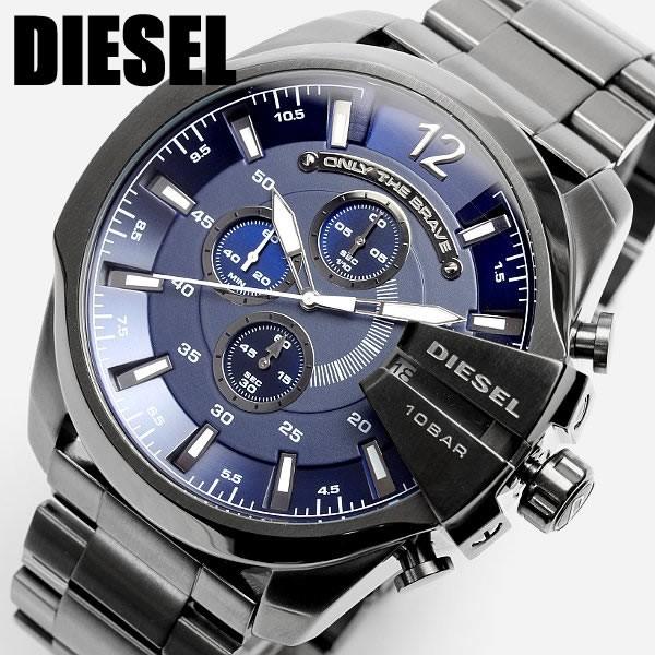 ディーゼル DIESEL 腕時計 フルブラック DZ4329 メンズ 腕時計 多針アナログ表示 クロノグラフ 腕時計 MEN'S うでどけい ウォッチ 人気 ブランド ランキング