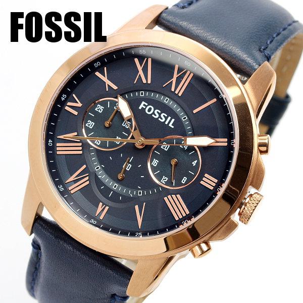 FOSSIL フォッシル メンズ ウォッチ Men's 腕時計 クロノグラフ FS4835 エレガント クラシック