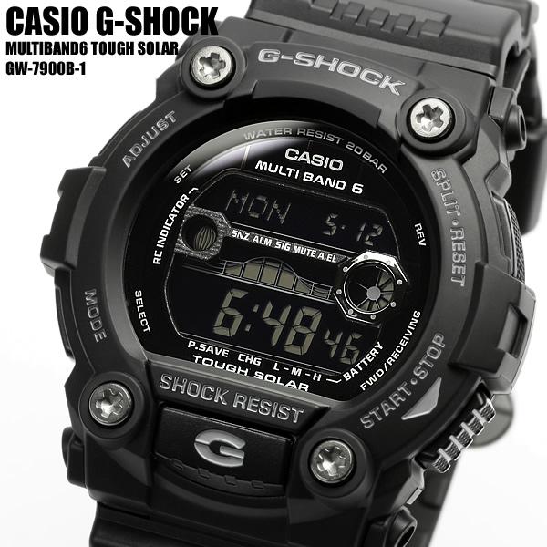 【スーパーSALE】【CASIO/カシオ】 G-SHOCK Gショック 腕時計 メンズ 電波ソーラー 20気圧防水 GW-7900B-1 MEN'S うでどけい ギフト