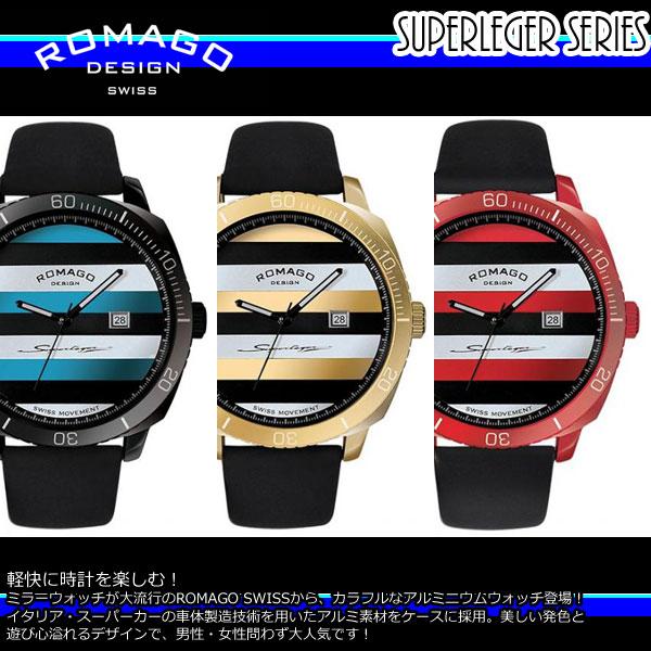 【ROMAGO/ロマゴ デザイン】 RM049-0429ST 腕時計 レディース スーパーレジャーシリーズ レディース カレンダー スイス スイス 男女兼用 メンズ RM049-0429ST うでどけい, カバンのセレクション:bd54f789 --- gallery-rugdoll.com