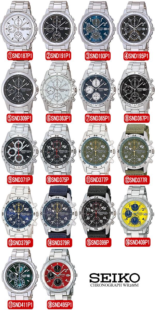 SEIKO 세이 코 남성용 크로 노 그래프 시계 10 기 압 방수 크로 노 시계 うでどけい MEN 'S 시계 최신 모델 인기 브랜드 순위