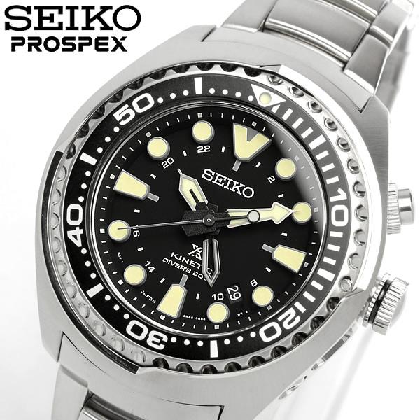 【感謝SALE】【送料無料】【SEIKO】【セイコー】 PROSPEX プロスペックス キネティック 自動巻き 腕時計 ダイバーズウォッチ Divers 200M防水 メンズ オートマティック カレンダー SUN019P1 Men's