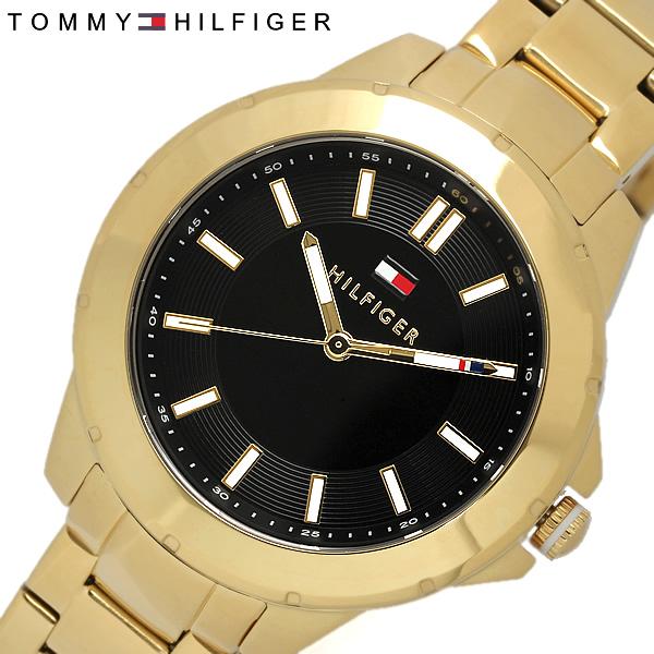 【送料無料】【TOMMY HILFIGER】【トミーヒルフィガー】 腕時計 レディース 女性用 トミー ステンレス 時計 tommy hilfiger うでどけい 1781434 ゴールド×ブラック