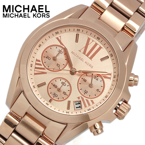 Cameron Watch Ladies Pink Gold Chronograph Stainless Steel 10