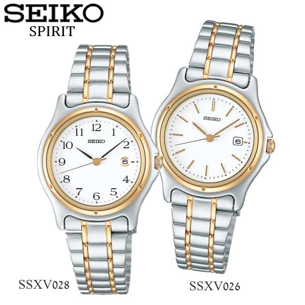 【送料無料】【SEIKO SPIRIT】 セイコー スピリット 腕時計 レディース メタル SSXV026 SSXV028 うでどけい ウォッチ 【国内正規品】