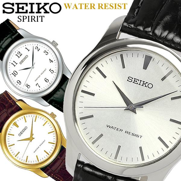 【送料無料】【SEIKO SPIRIT】 セイコー スピリット 腕時計 メンズ 本革レザー SCXP031 SCXP032 SCXP033 うでどけい ウォッチ Men's 【国内正規品】