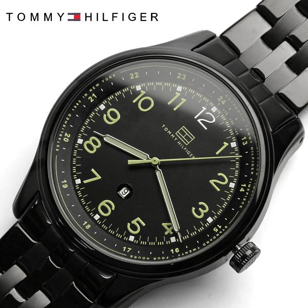 【送料無料】【TOMMY HILFIGER】【トミーヒルフィガー】 腕時計 メンズ 男性用 MEN'S トミー 時計 tommy hilfiger うでどけい 1710307 ステンレス