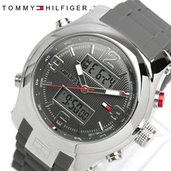 【送料無料】【TOMMY HILFIGER】【トミーヒルフィガー】 腕時計 メンズ 男性用 MEN'S トミー 時計 tommy hilfiger うでどけい 1790957 アナログ デジタル