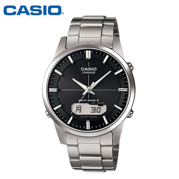 【カシオ・ソーラー電波時計】CASIO カシオ ソーラー電波時計 リニエージ ソーラー 電波 メンズ 腕時計 電波ソーラー LCW-M170TD-1AJF MEN'S うでどけい 国内正規品