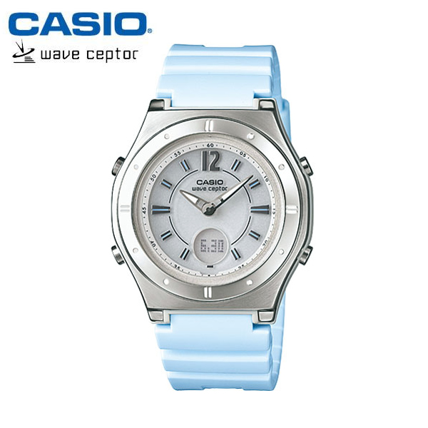 【カシオ・ソーラー電波時計】CASIO ウェーブセプター ソーラー 電波 レディース 腕時計 電波ソーラー LWA-M142-2AJF 女性用 ladies うでどけい 国内正規品