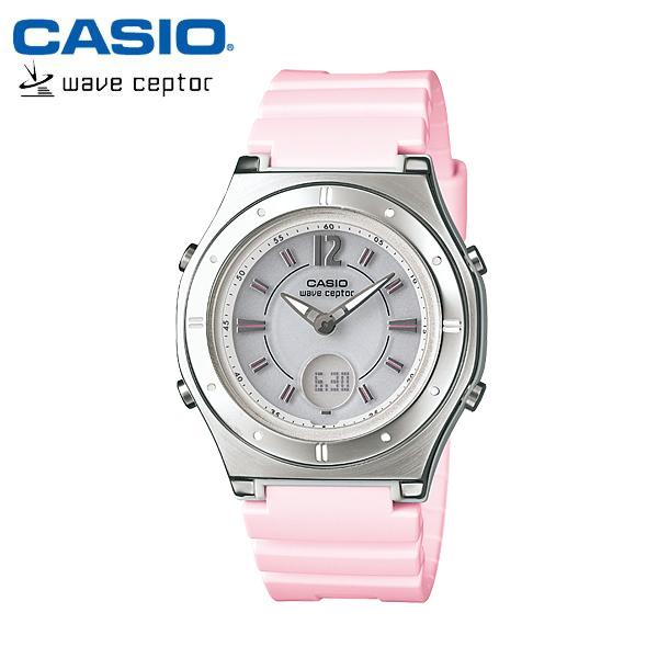 【カシオ・ソーラー電波時計】CASIO ウェーブセプター ソーラー 電波 レディース 腕時計 電波ソーラー LWA-M142-4AJF 女性用 ladies うでどけい 国内正規品