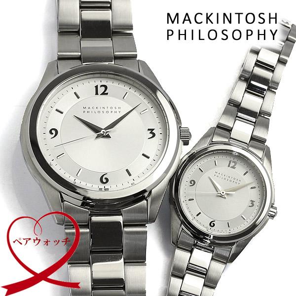 【送料無料】 MACKINTOSH PHILOSOPHY マッキントッシュ 腕時計 メンズ レディース ペアウォッチ 10気圧防水 FBZT993 FDAT992