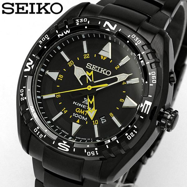 【送料無料】【SEIKO】【セイコー】PROSPEX プロスペックス KINETIC キネティック メンズ 腕時計 男性用 GMT機能 SUN047P1 MEN'S 100M防水 ブランド