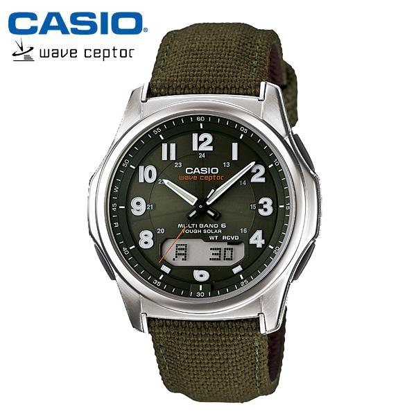 【カシオ・ソーラー電波時計】CASIO ウェーブセプター ソーラー 電波 メンズ 腕時計 電波ソーラー WVA-M630B-3AJF MEN'S うでどけい 国内正規品
