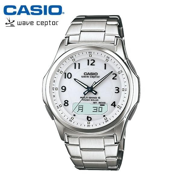【カシオ・ソーラー電波時計】CASIO ウェーブセプター ソーラー 電波 メンズ 腕時計 電波ソーラー WVA-M630D-7AJF MEN'S うでどけい 国内正規品