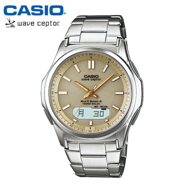 【カシオ・ソーラー電波時計】CASIO ウェーブセプター ソーラー 電波 メンズ 腕時計 電波ソーラー WVA-M630D-9AJF MEN'S うでどけい 国内正規品